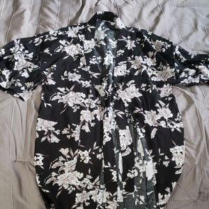 Kimono style wrap/cardigan